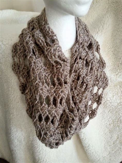 easy crochet cowl scarf pattern crochet and knit
