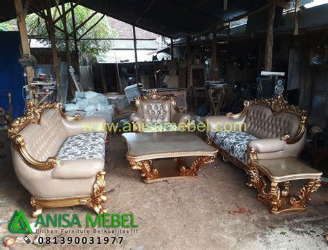 Kursi Tamu Satu Set sofa tamu mewah antik satu set anisa mebel furniture