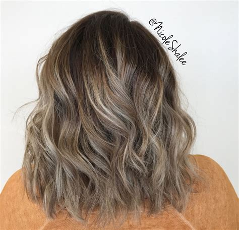 what is low lighting hair when trying to transition to gray hair shadow root smudge root balayage warm highlights long