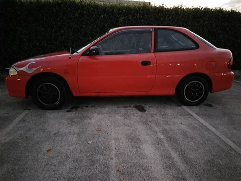 hyundai excel 1995 1995 hyundai excel car sales qld gold coast 2940858