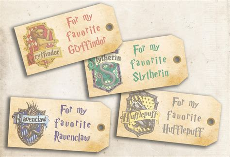 printable harry potter name tags harry potter hogwarts printable gift tags diy tags for gifts