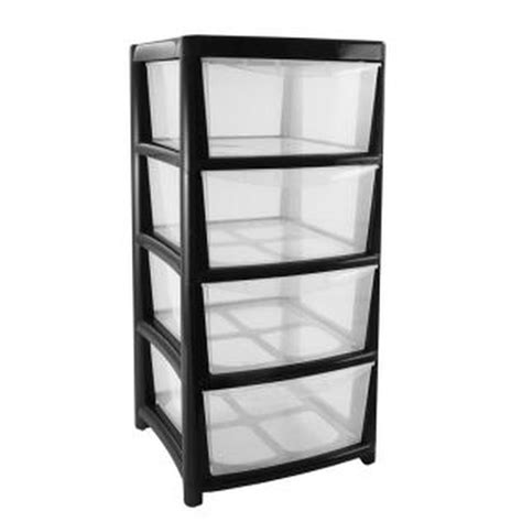 5 Drawer Plastic Storage Cart by Brilliant Plastic Storage Containers With Drawers