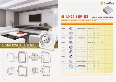 Gao Stop Kontak 3 Socket Dengan Switch On distributor switch dan socket saklar stop kontak lumitek