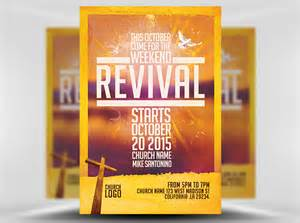 Church Revival Flyer Template Free by Church Revival Flyer Template Flyerheroes
