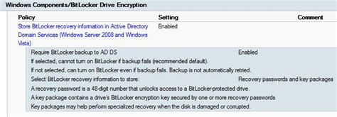 cryptography policy template bitlocker on windows 8 1 and configmgr 2012 r2 imab dk