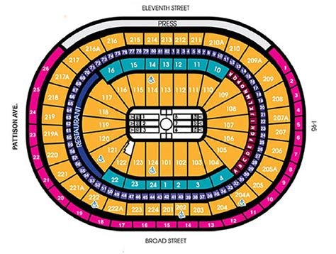 fargo center philadelphia seating chart seating charts fargo center