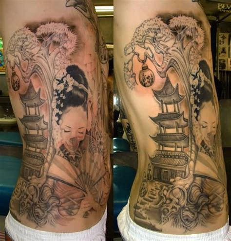 geisha tattoo designs for men geisha ideas and geisha designs page 34