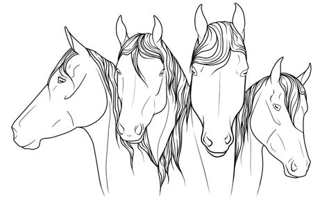 coloring pages of horses jumping jumping coloring pages