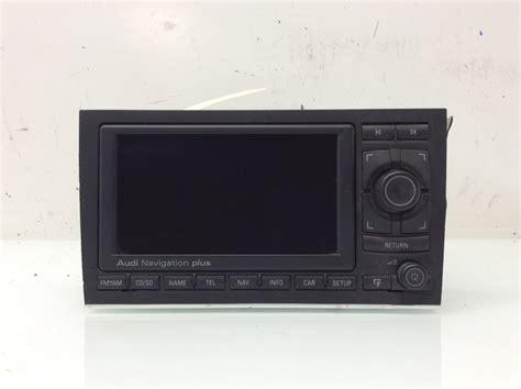 Audi A4 Radio by 2005 2006 2007 2008 Audi A4 Gps Navigation Radio Unit