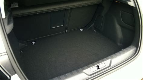 peugeot 308 trunk peugeot 308 e thp full on the road review