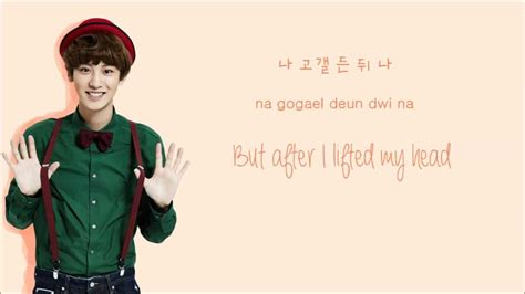 exo in hangul exo the star korean version color coded hangul rom