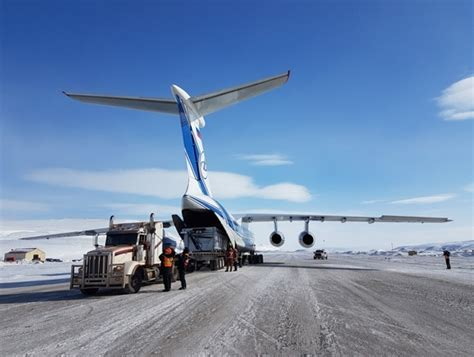 volga dnepr helps canadian iron ore mining project increase its 2017 production target air cargo