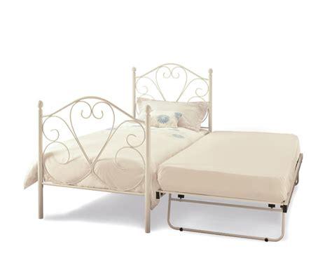 Buy Serene Isabelle 3ft Single Metal Guest Bed Frame Guest Bed Frame Only