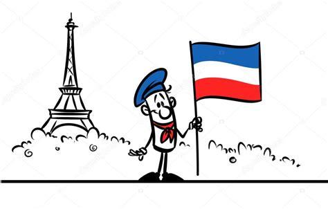 imagenes y simbolos de francia dibujos animados de bandera de francia par 237 s torre eiffel