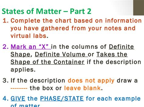 define matter definition of matter lab day 3