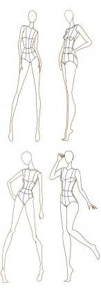 Fashion Template 1000 images about fashion illustration templates on