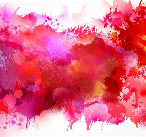 background pattern splash multicolor watercolor splash background illustration