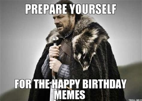 Game Of Thrones Happy Birthday Meme - happy birthday out the window weddings fun stuff