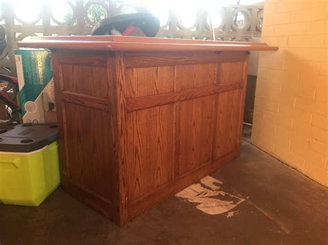 Refinish Bar Top Question About Refinishing A Wooden Bar Woodworking Network