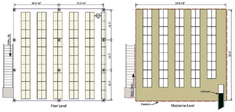 Software For Planning Room Layouts parts storage mezzanine