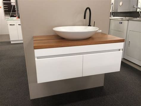 Tile Vanity Top by 900mm Wall Hung Vanity With Timber Top