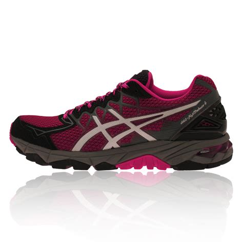 womens asics trail running shoes asics gel fujitrabuco 4 s trail running shoes aw15