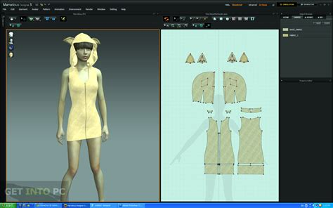 dress pattern design software free marvelous designer 3 free download