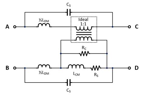 common mode choke low pass filter conducted emi reduction by means of hybrid common chokes richtek technology