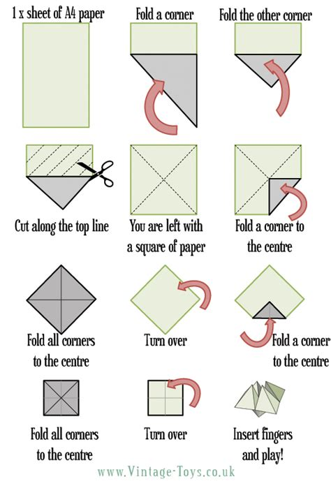 Origami Fortune Teller - free paper fortune teller printable templates welcome to