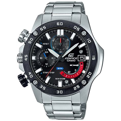 Casio Edifice Ef 558 Oribm edifice efr558db 1av silver casio