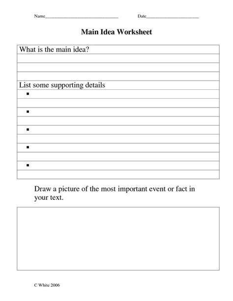 Idea Worksheets 5th Grade by 14 Best Images Of Idea Worksheets Grade 5 Idea