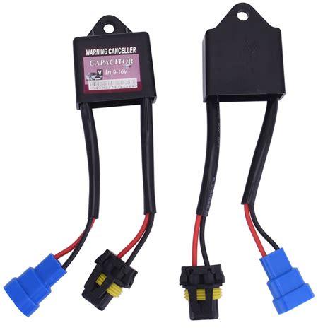 capacitor no xenon 2pcs xenon hid xenon lights decoder kits hid light l relay capacitor error warning canceller