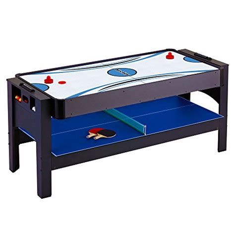3 in 1 table tennis hathaway threat 3 in 1 air hockey billiards and