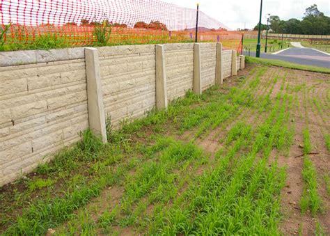 Sleeper Retaining Wall Systems by Concrete Sleeper Walls United Crib Sydney Construction