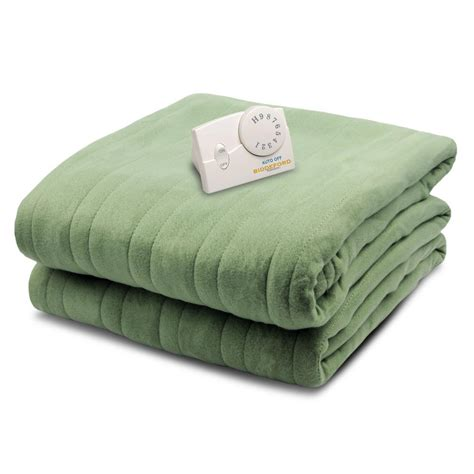 biddeford blankets 1001 series comfort knit heated 72 in