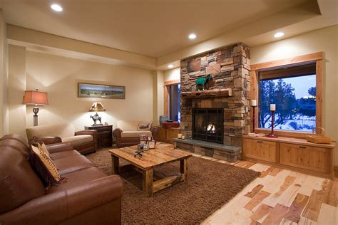 western style living rooms western ranch traditional living room portland by