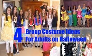 Group costume ideas for adults on halloween bash corner