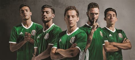mexican national adidas unveils new mexico national team jersey 100 percent soccer