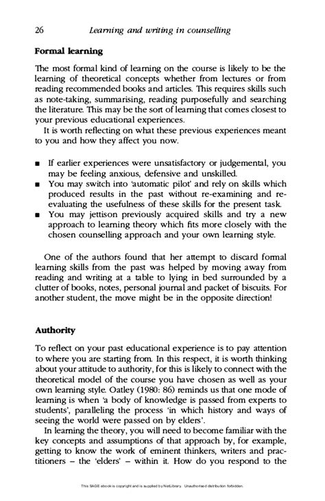 Counselling Theory Essay college essays college application essays counselling theory essay