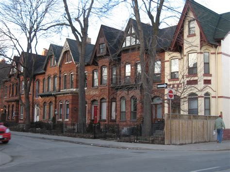 history of houses file toronto row houses jpg wikipedia