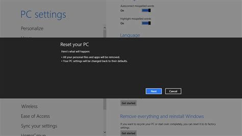 reset pc online how to remove everything and reinstall windows botcrawl