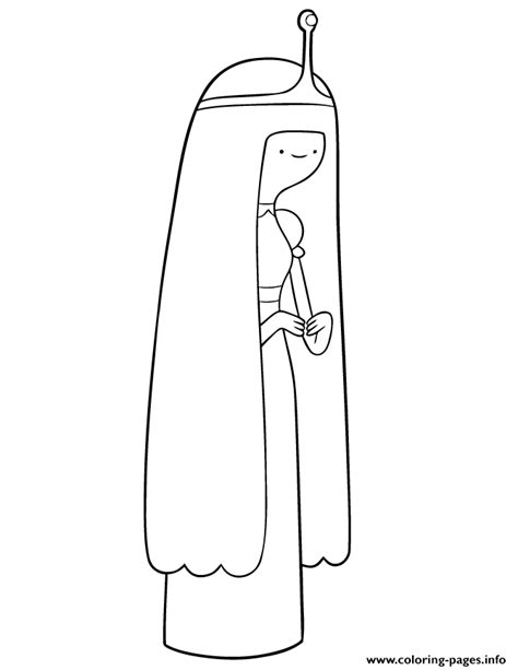 adventure time character princess bubblegum coloring pages