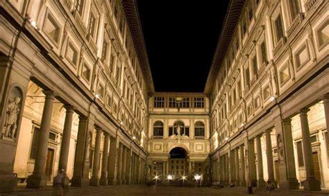 galleria degli uffici le aperture notturne degli uffizi e l accademia eventi