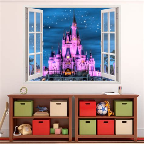 Wandtattoo Kinderzimmer Walt Disney by Disney Schloss