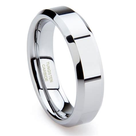 size 16 mens wedding bands gold mens rings tungsten carbide polished s wedding
