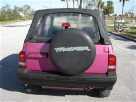 pink 1994 geo tracker sold at wholesale