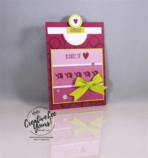 Bertucci Gift Card - adorable bundle of love gift card holder creativelee yours