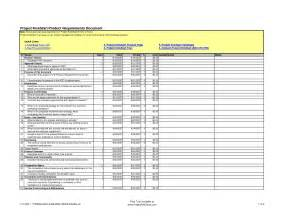 Product Design Requirements Template by Requirements Document Template Tristarhomecareinc