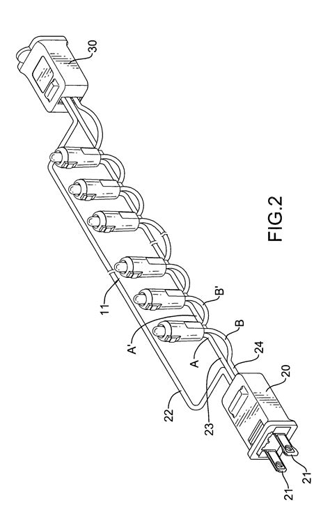 patent us20100296290 led based christmas light string