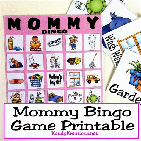 day bingo mothers day bingo printable plays gaming and